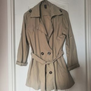 Jackets & Blazers - Lightweight trench coat style duster jacket